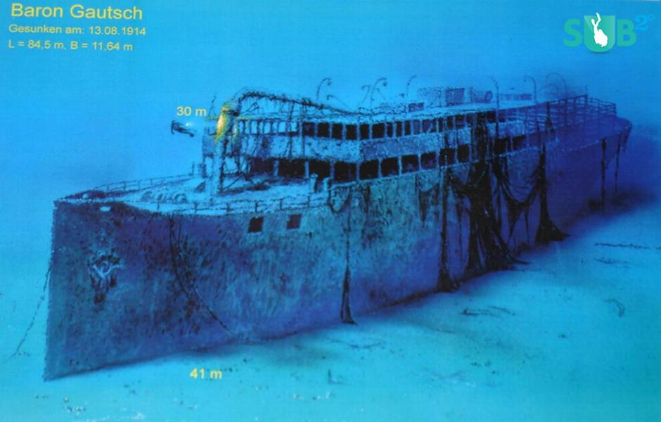The Baron Gautsch Wreck