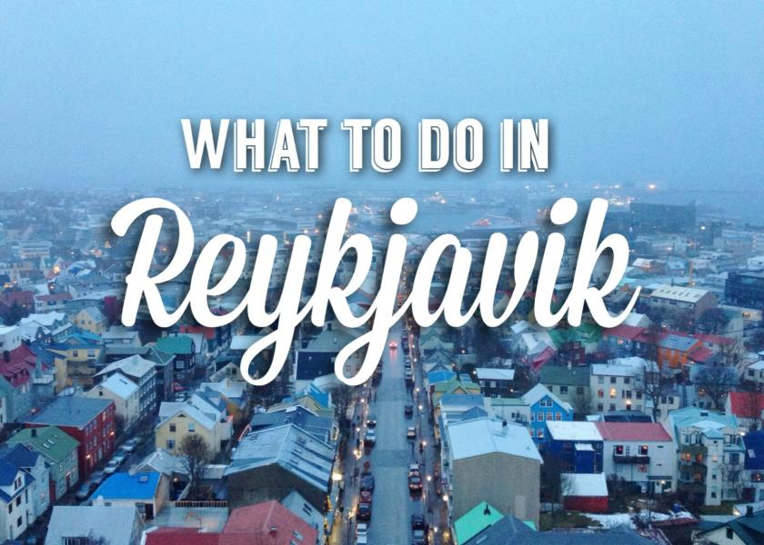 Things to do in Reykjavik