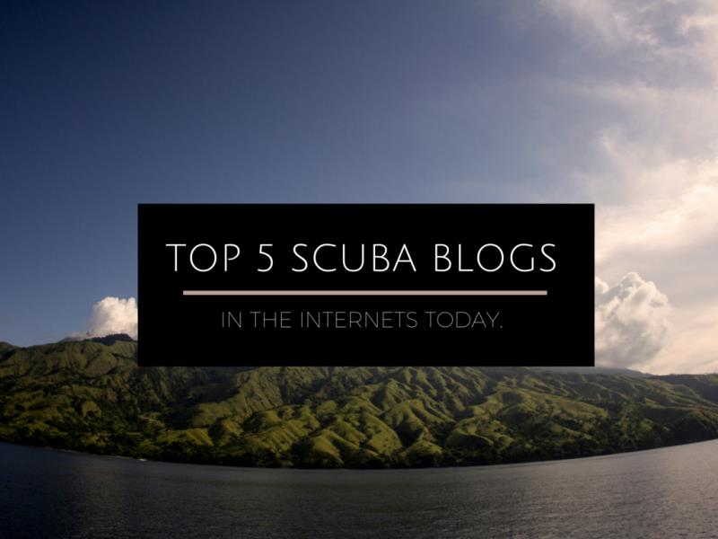 top 5 scuba blogs online today